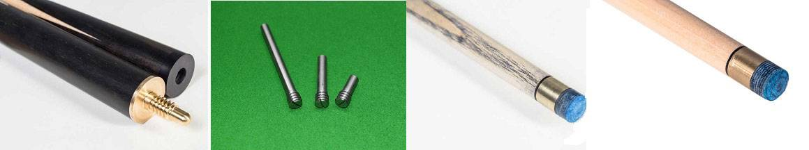 our cue components ranging from joint, weigh bolts to the ash and radial shafts